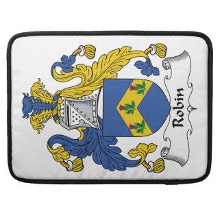 Robin Family Crest Sleeve For MacBooks