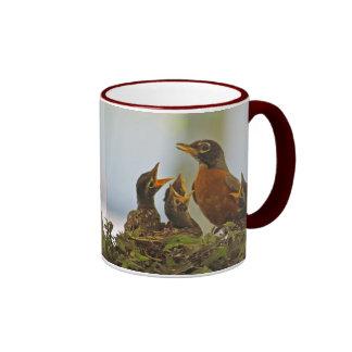 Robin Family Mug