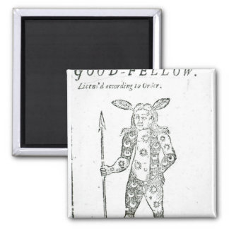 Robin Goodfellow 2 Inch Square Magnet