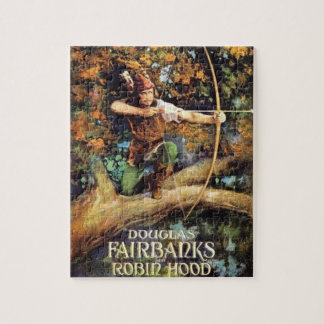 Robin Hood 1922 Movie Poster Puzzle