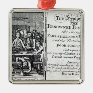 Robin Hood and his mother Metal Ornament