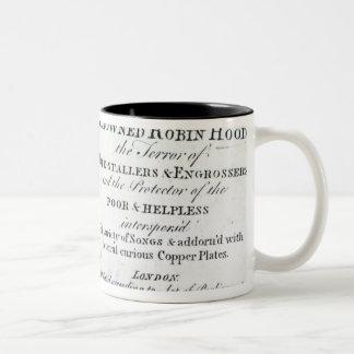 Robin Hood and his mother Two-Tone Coffee Mug