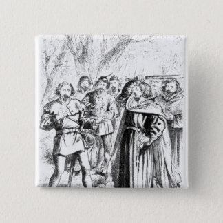 Robin Hood and King Richard I Pinback Button
