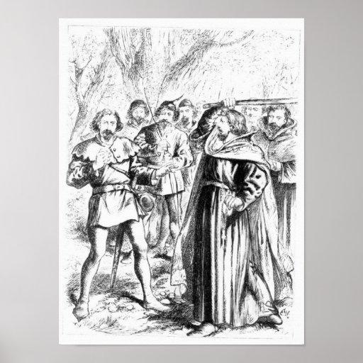 Robin Hood and King Richard I Print
