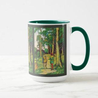 Robin Hood And Little John Mug
