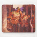 Robin Hood and the Men of Greenwood  by NC Wyeth Mousepads
