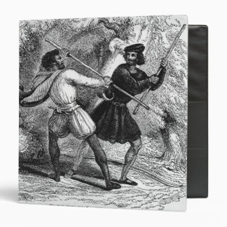 Robin Hood and the Tanner with Quarter-staffs Binder