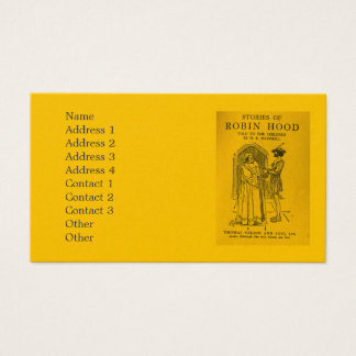 Robin Hood As Told Business Card