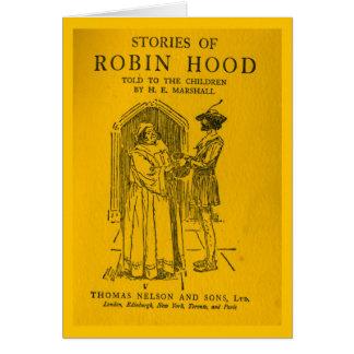 Robin Hood As Told Card