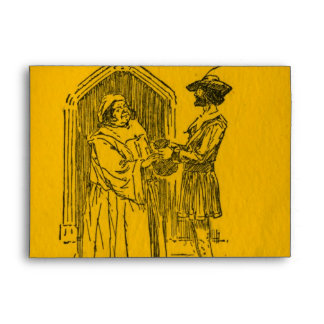 Robin Hood As Told Envelope