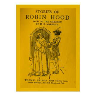 Robin Hood As Told Print