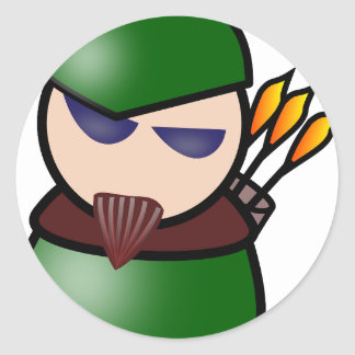 Robin-Hood Classic Round Sticker