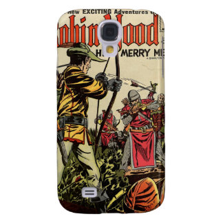 Robin Hood Comic Book Galaxy S4 Case