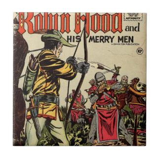 Robin Hood Comic Book Tile