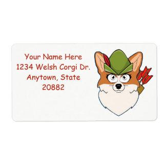 Robin Hood Corgi Label
