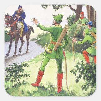 """Robin Hood, de """"píos en el pasado"""", publicado Pegatina Cuadrada"""