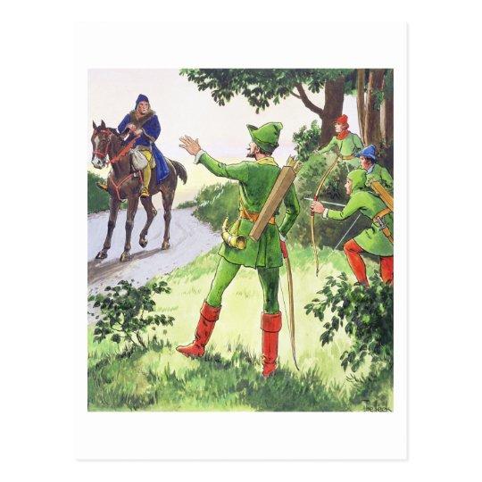 """Robin Hood, de """"píos en el pasado"""", publicado Postales"""