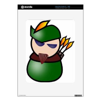 Robin-Hood Decals For iPad