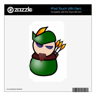 Robin-Hood Decals For iPod Touch 4G