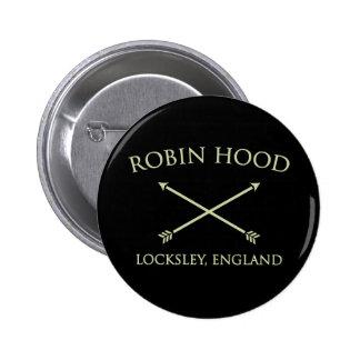 Robin Hood del locksley Pin Redondo 5 Cm