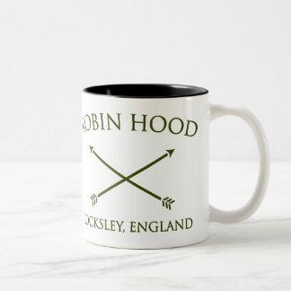 Robin Hood del locksley Taza De Dos Tonos
