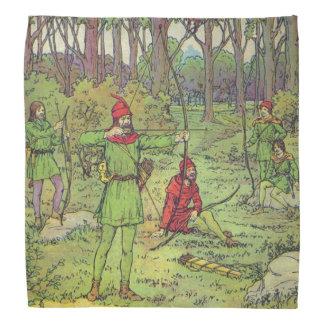 Robin Hood en el bosque Bandana