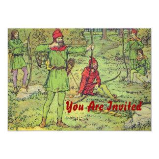 Robin Hood en el bosque Comunicados Personalizados