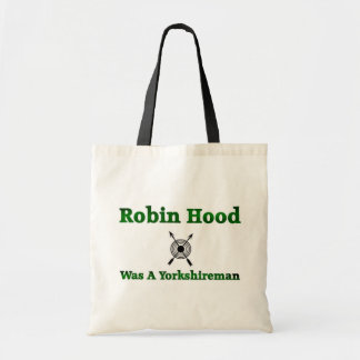 Robin Hood era un Yorkshireman Bolsa Tela Barata