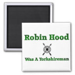 Robin Hood era un Yorkshireman Imán Cuadrado