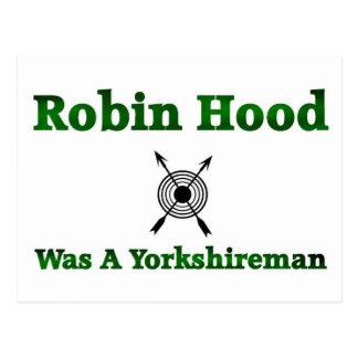 Robin Hood era un Yorkshireman Postales