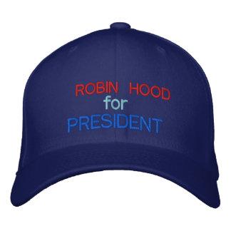 ROBIN HOOD FOR PRESIDENT  - custom Baseball Cap