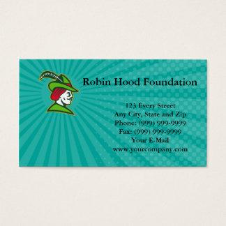 Robin Hood Foundation Business card