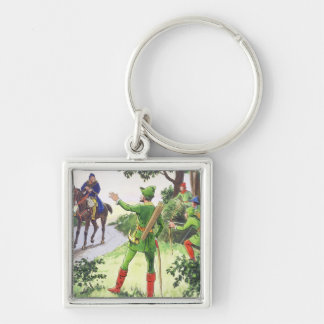 Robin Hood, from 'Peeps into the Past', published Key Chains