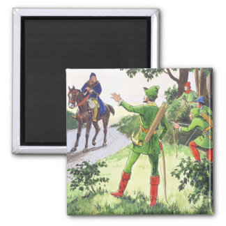 Robin Hood, from 'Peeps into the Past', published Magnet