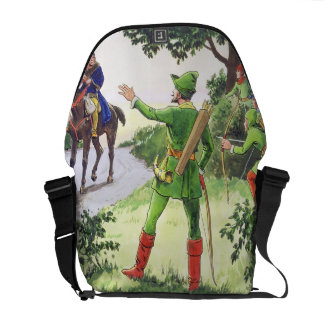 Robin Hood, from 'Peeps into the Past', published Courier Bag