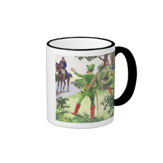 Robin Hood, from 'Peeps into the Past', published Coffee Mugs