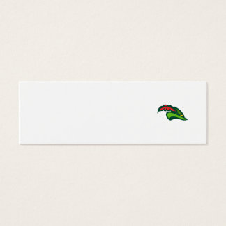 Robin Hood Hat Retro Mini Business Card