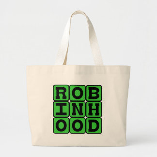 Robin Hood, Heroic Outlaw from Sherwood Forest Tote Bags