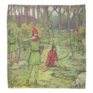 Robin Hood In The Forest Bandana
