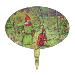 Robin Hood In The Forest Cake Topper