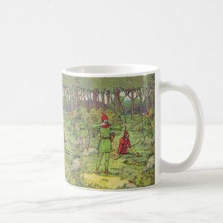 Robin Hood In The Forest Classic White Coffee Mug