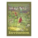 Robin Hood In The Forest 13 Cm X 18 Cm Invitation Card