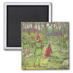 Robin Hood In The Forest Magnets