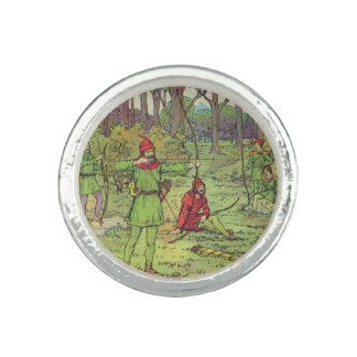 Robin Hood In The Forest Photo Rings