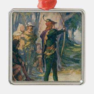 Robin Hood Metal Ornament