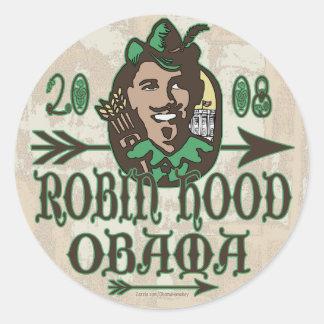 Robin Hood Obama Sticker
