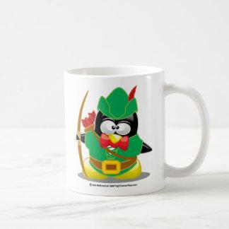 Robin Hood Penguin Coffee Mug