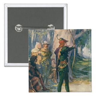 Robin Hood Pin Cuadrado