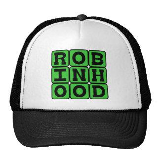 Robin Hood, proscrito heroico del bosque de Gorras