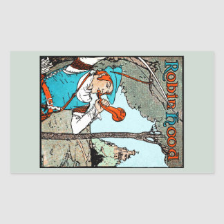 Robin Hood Rectangular Sticker